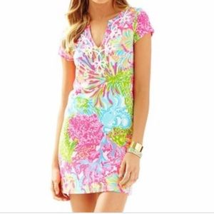 NWOT Brewster Dress LILLY PULITZER Coral sz S